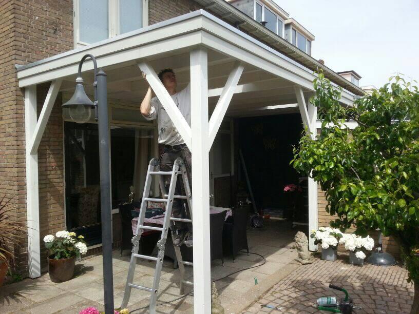 Veranda blokhut en tuin kluswerk nh for Offerte veranda